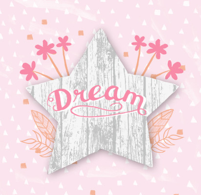 Katy Bloss Dream Star Lettering Swatch