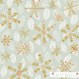 Katy Bloss Royal Snowflake Pattern
