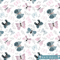 Katy Bloss Butterfly Love Pattern Design