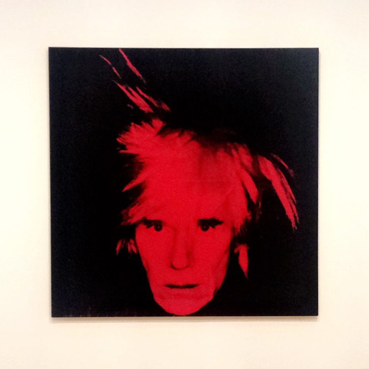 Andy Warhol at The Whitworth Manchester - Self Protrait