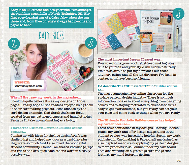 Katy Bloss Interview Moyo Magazine Make It In Design