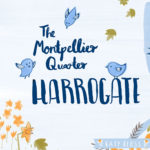 Discover beautiful Harrogate with my fun illustrated map